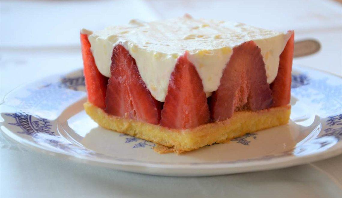 Torta fraisier ovvero torta alle fragole