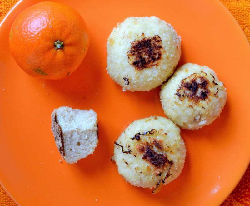 Polpette di pollo al profumo di mandarino