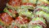 Zucchine al forno con mozzarella e pomodori
