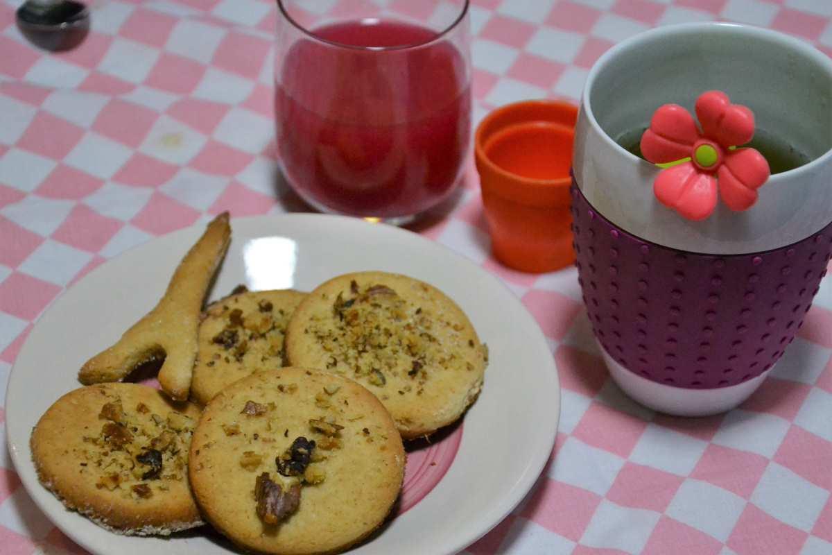 Biscotti al miele ed allo yogurt