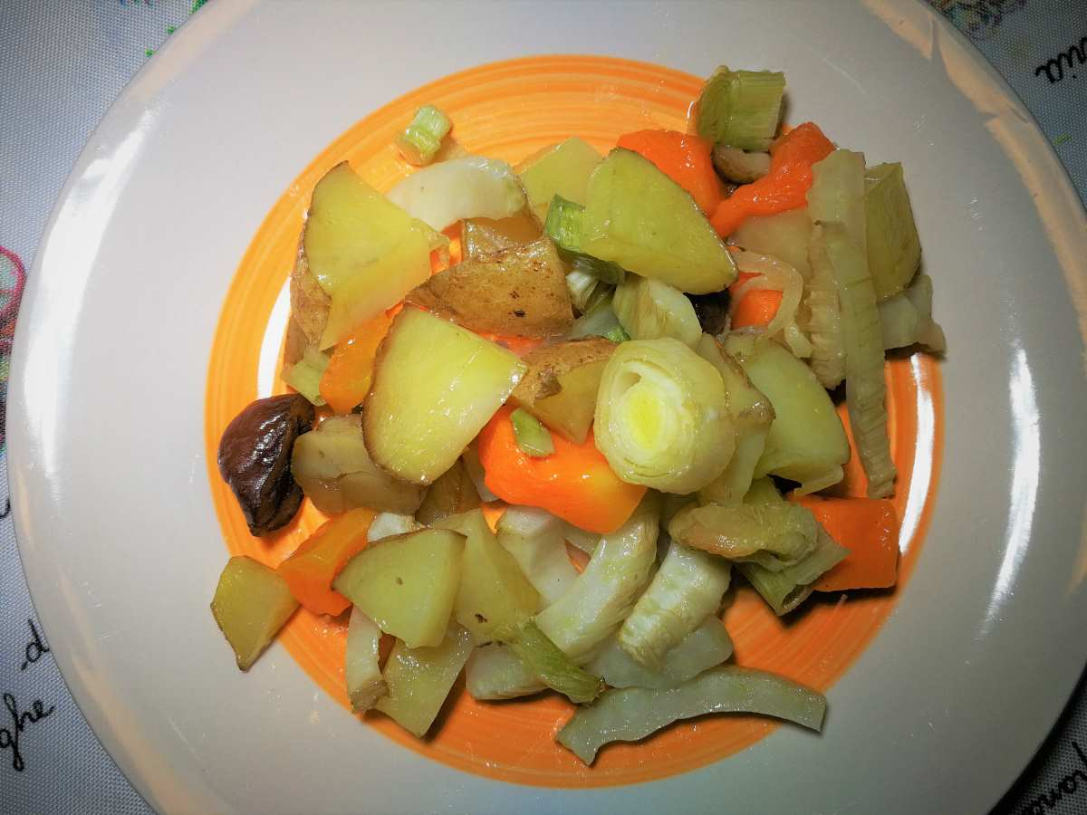 Ratatouille di verdure invernali