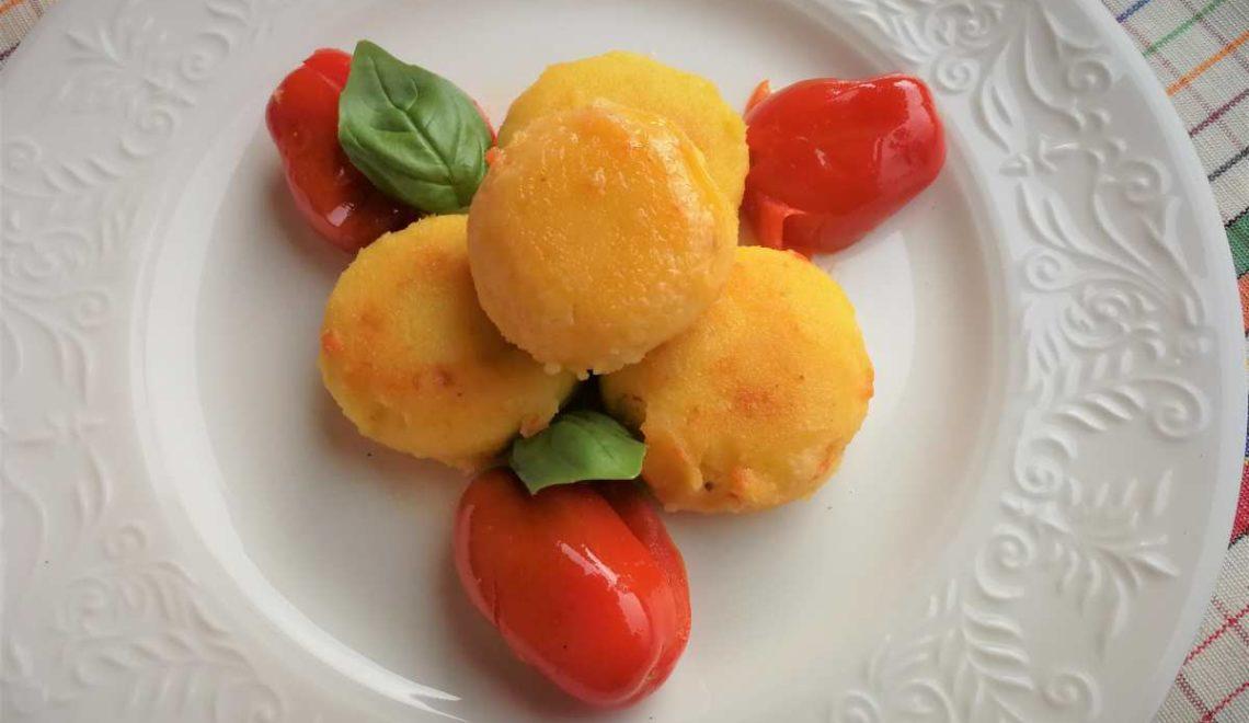 Polpettine di ricotta e pomodorini
